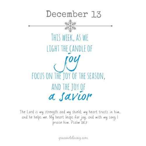 Advent Dec 13