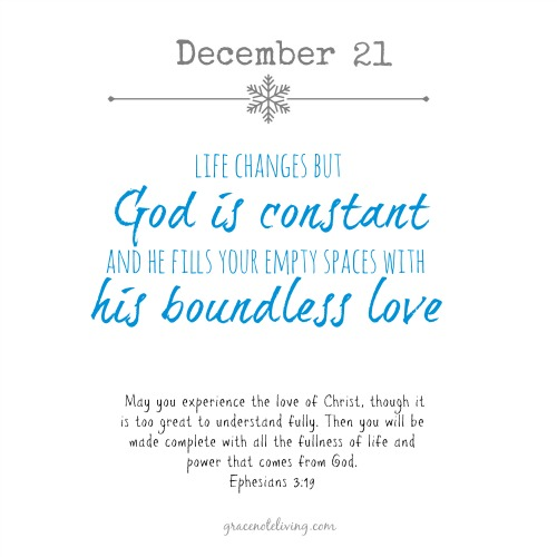 Advent dec 21