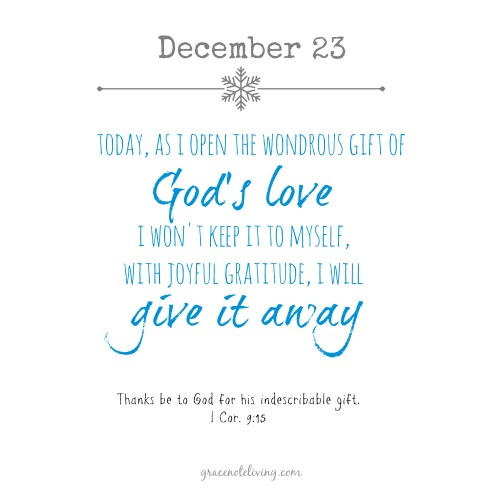 Advent dec 23