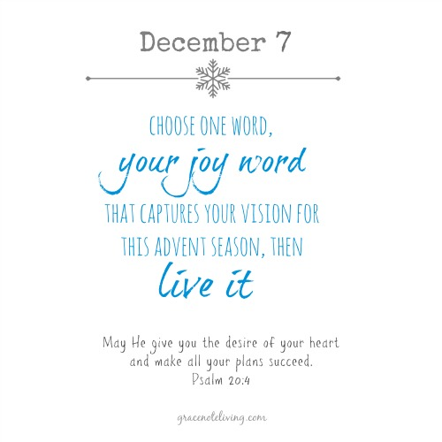 Advent Dec 7