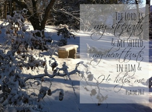 snow psalm